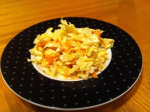 Traditional Vegan Coleslaw